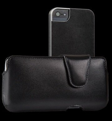 Special Sale Sena Laterale Duo for iPhone 5 - Black - 838901