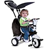 Smart Trike Spark White/Black Pedal Ride Ons