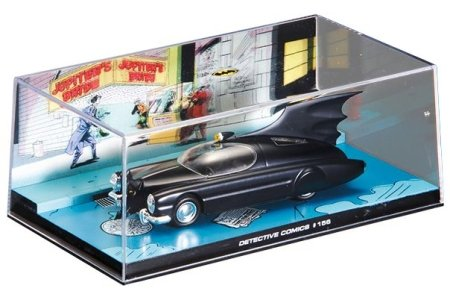 Batman - Batmobile from Detective Comics #156 1:43 scale model