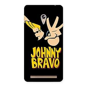 Gorgeous Brave Black Back Case Cover for Zenfone 6