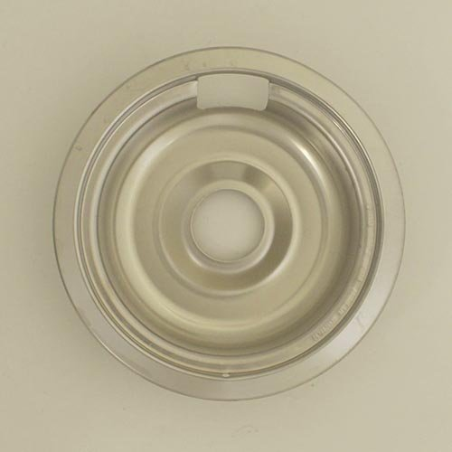 "Range Kleen Drip Bowl Chrome Small / 6"", Single Pack"