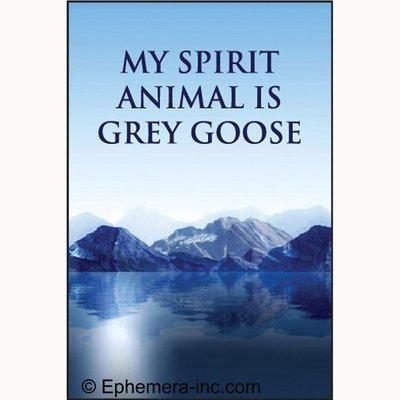 my-spirit-animal-is-grey-goose-rectangle-magnet-by-ephemera-inc
