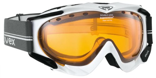 UVEX Skibrille Apache, black shiny, One size, S55.0.079.2229