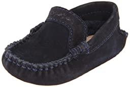 Elephantito Moccasin FA11,Navy,2 M US Infant