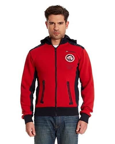 Geographical Norway Giacca Felpa Gavo [Rosso]