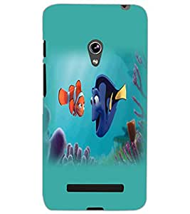 ASUS ZENFONE 5 A501CG FISH Back Cover by PRINTSWAG