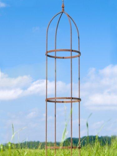 rankger st 10mm rost obelisk rosenhilfe h 200cm rankhilfe. Black Bedroom Furniture Sets. Home Design Ideas
