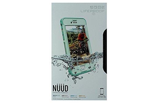 Lifeproof Nüüd Series Waterproof Case for iPhone 6s Plus - Retail Packaging - Undertow (Aqua Sail Blue/Clear/Tail Side Teal) (Blue Lifeproof Case compare prices)