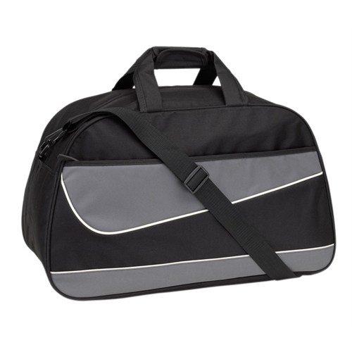 Sporttasche Reisetasche schwarz/grau 55cm