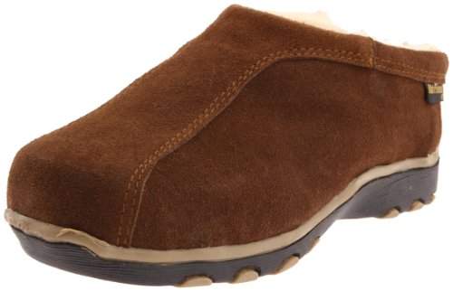 Old Friend Men's Alpine Sheepskin-Lined Clog,Dark Brown,16 M