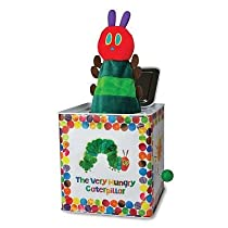 Kids Preferred The World of Eric Carle The Very Hungry Caterpillar Jack in the Box baby gift idea