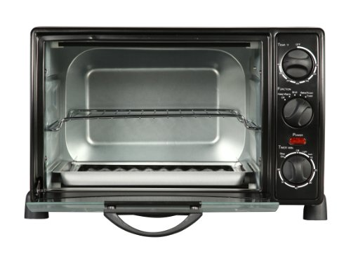 Rosewill RHTO-13001 6 Slice Toaster Oven Broiler with Drip Pan, 0.8 cu ft ,  Black (Small Oven Drip Pans compare prices)