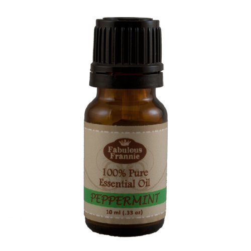 Peppermint 100% Pure, Undiluted Essential Oil Therapeutic Grade - 10 ml. Great for Aromatherapy!