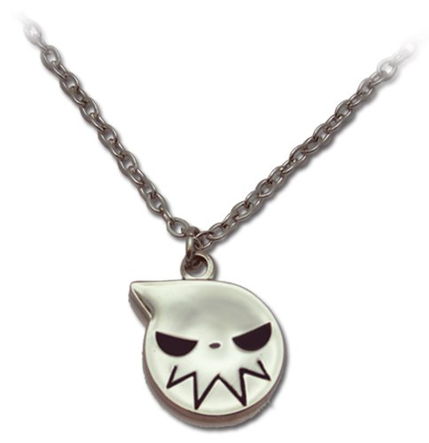 Soul Eater: Soul Eater Logo Icon Silver Necklace