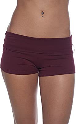 2 or 4 Pack Active Basic Women's Short Active Stretch Yoga Shorts