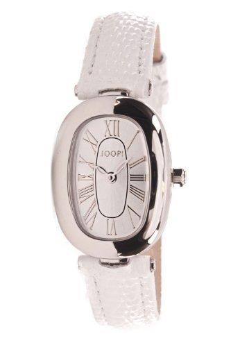 Joop JP11Q1SS-1002 - Reloj de mujer de cuarzo, correa de piel color blanco