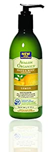 Avalon Organics Hand & Body Lotion - Lemon - 12 oz