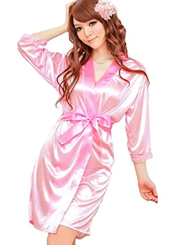 viskey-women-ladys-sexy-satin-lingerie-sleepwear-robes-night-gown-nightwear