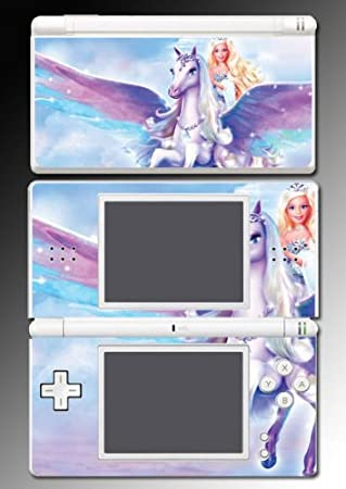 Barbie Unicorn Pony Princess Vinyl Decal Cover Skin Protector #3 Nintendo DS Lite
