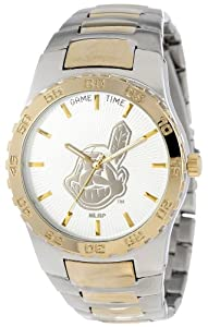 Game Time Mens MLB-EXE-CLE Cleveland Indians Watch by Game Time