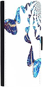 Snoogg Kaleidoscopic Butterfliesdesigner Protective Flip Case Cover For Googl...