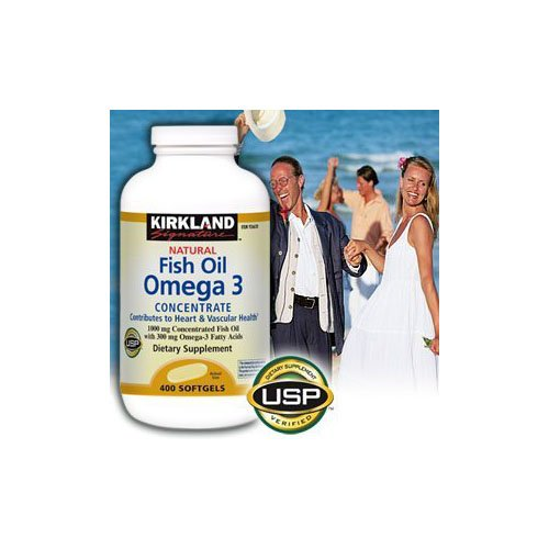 Kirkland Signature Natural Fish Oil