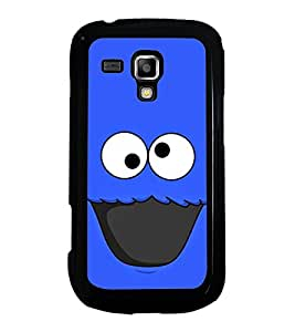 Printvisa Ultra Funny Cartoon 2D Hard Polycarbonate Designer Back Case Cover for Samsung Gala...