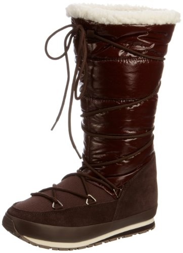 Rubber Duck Women's Articjoggers Shiny/Suede Chocolate Brown Snow Boot Sno200590137 6 Uk
