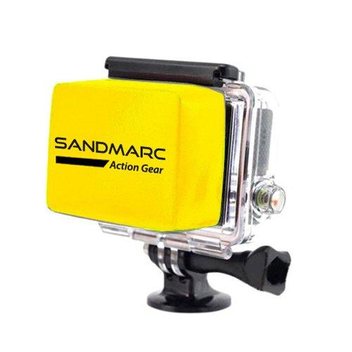 SANDMARC® Floaty - Flottant Accessoire pour GoPro Hero 4 , 3+ et 3 caméras (Caméscope) - pour le surf, plongée sous-marine , plongée en apnée ,