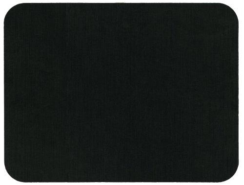 Caspari Tischset, wiederverwendbar, vinylbeschichtetes Papier, Schwarz