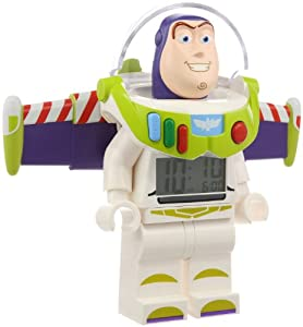 LEGO Kids' 9002748 Toy Story Buzz Lightyear Mini-Figure Alarm Clock