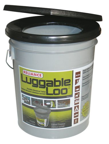 Best bucket camping toilet - Reliance Luggable Loo