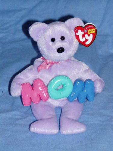 TY Beanie Baby – MOM the Bear