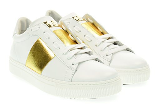 STOKTON donna sneakers basse 650-D Bianco 38 Bianco
