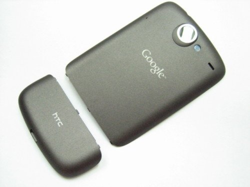 Battery Back Cover Door For Htc Google G5 Nexus One Black Colour ~ Repair Parts Replacement