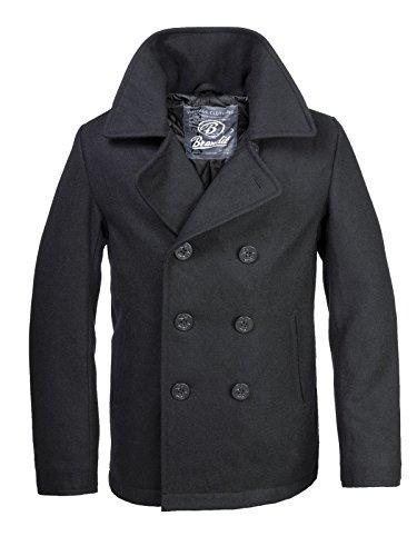 Brandit -  Cappotto  - Maniche lunghe  - Uomo nero M
