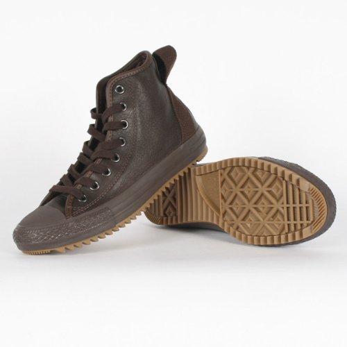 Converse – Chuck Taylor Hollis HI Shoes, Size: 3 D(M) US Mens / 5 B(M) US Womens, Color: Chocolate