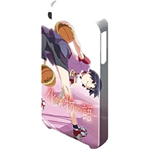 デザエッグ デザジャケット 化物語 for iPhone 4/4S デザイン3 神原駿河 DJAN-IPB1(m=3)