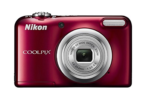 Nikon-Coolpix-A10-Point-and-Shoot-Digital-Camera-Red-with-8GB-Memory-Card-and-Camera-Case
