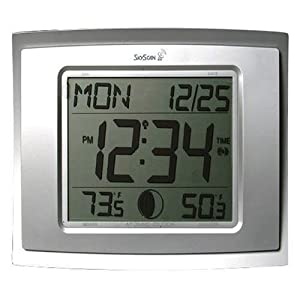 Skyscan Atomic Digital Clock With Indoor And Outdoor Html