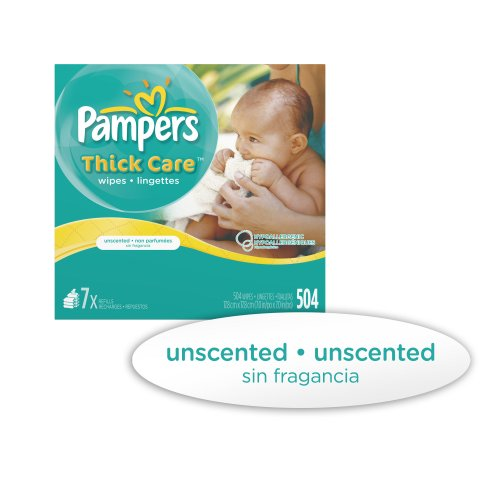 Imagen de Pampers Wipes Refill ThickCare Unscented - Caja 7x - 504 Conde