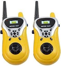 Zest 4 Toyz 2 Player Walkie Talkie Phone Toy For Little Spy Kids