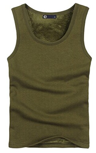 New Style Men's Shaping Undergarment Elimination of Male Beer Belly-Army Green