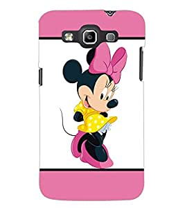 PrintDhaba Minnie Mouse D-1302 Back Case Cover for SAMSUNG GALAXY QUATTRO (Multi-Coloured)