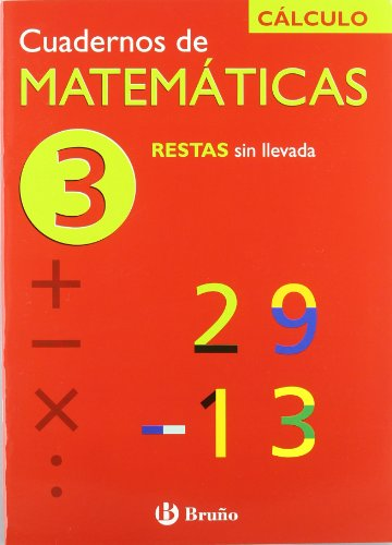 3 Restas sin llevada (Cuadernos De Matematicas)
