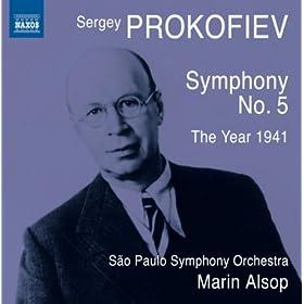 Symphony No. 5 in B-Flat Major, Op. 100: II. Allegro marcato