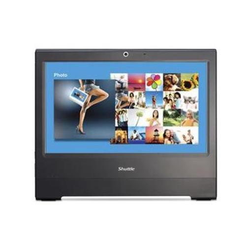 Shuttle X50 v2 Plus 15.6 inch All-in-One Barebone PC (Intel Atom D525 1.8GHz, 1 x 2.5 inch S-ATA Interface, 2 x 240-pin DDR3 Memory Sockets) - Black