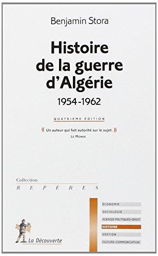 histoire de la guerre d'algerie 1954-1962