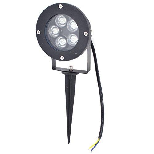 Ac85-265V 10W 5-Leds 500-550Lm Blue Led Light Garden Spotlight Lamp
