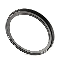 K&F Concept Metal Stepping Rings 52-58mm Step Up Filter Adapter Ring for Canon Nikon Camera